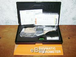 Mitutoyo Digital Micrometer No 293-341-30-mdc-2 Px Sealed New Old Stock