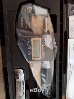 Mitutoyo Digital Micrometer QuantuMike IP65 0-25mm 293-185 Brand New