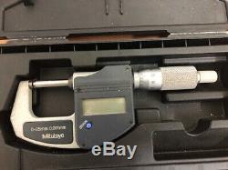 Mitutoyo Digital Outside Micrometer 0-25 MM 0.001mm