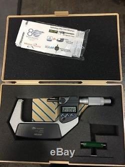 Mitutoyo Digital Outside Micrometer, 2-3 Range. 00005 Graduation With Case