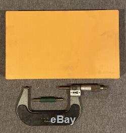 Mitutoyo Digital Outside Micrometer, 3-4 Range. 0001 Graduation