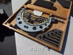 Mitutoyo Digital Outside Micrometer 6-12 Inch, Model 340-712-10