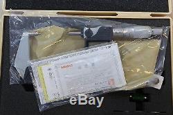 Mitutoyo Digital Outside Spline Small Face Micrometer 1-2 / 0.00005 5mm tip