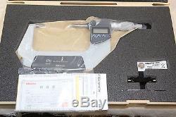 Mitutoyo Digital Outside Spline Small Face Micrometer 50-75mm / 0.001mm 10mm Tip