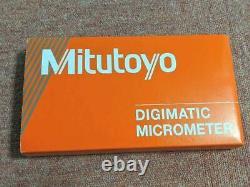 Mitutoyo Digital Point Micrometer IP65 Range 0-25mm