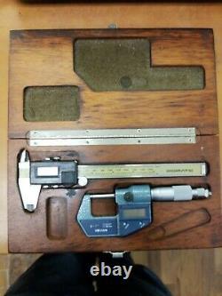 Mitutoyo Excellent! Digital Caliper & Digital Micrometer Combo Set