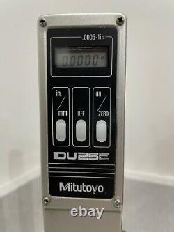 Mitutoyo IDU 25E digital height micrometer. DTI gauge. Engineering cnc