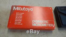 Mitutoyo MDC-2 MJ No. 293-331 Digital Micrometer 1-2.00005