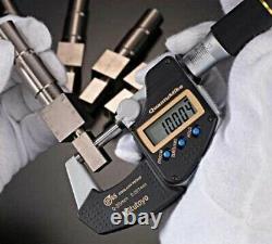 Mitutoyo MDE-75MX 293-142-30 Quantu Mike Coolant Proof Micrometer FastShip Japan