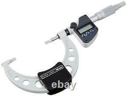Mitutoyo METRIC Digital LCD 0.75mm Blade Micrometer 50-75mm 0.001mm