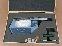 Mitutoyo Machinist Digital Micrometer IP54 2-3.00005. (No. 9048773) Mint Cond