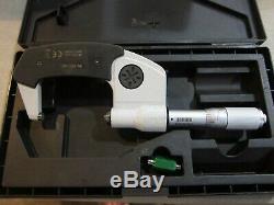 Mitutoyo Micrometer 293-345 IP65 Digital 1-2 Micrometer FREE SHIPPING