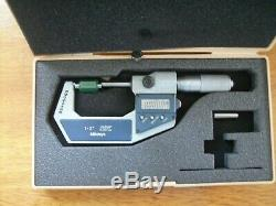 Mitutoyo Micrometers 1inch and 1 to 2 inch and 8inch calibers used but nice