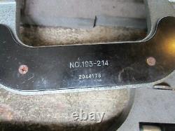 Mitutoyo Micrometers mechanical digital, 0 to 4