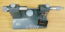 Mitutoyo Model 121-333 Digital Thread Bench Micrometer #i-325