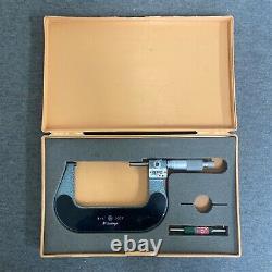 Mitutoyo No. 193-214 Digital Outside Micrometer 3-4 Range