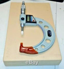 Mitutoyo No. 422-312 1-2 Digital Blade Micrometer