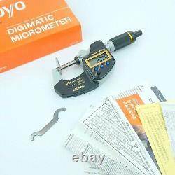 Mitutoyo Quantumike Micrometer 0-1 0-25mm. 00005 No. 293-185-30