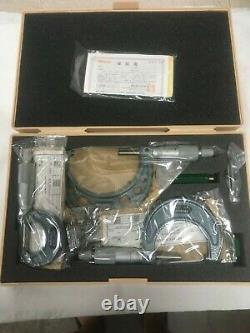 Mitutoyo Set of 3 Micrometers