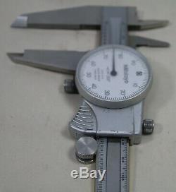 Mitutoyo Shock Proof Dial Type Range 0-8 505-676 Micrometer. 001 Measurement