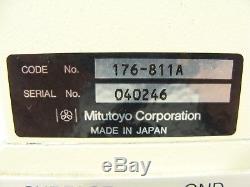 Mitutoyo TM Toolmakers Microscope 176-811A Z-Scope + Digital Micrometers 164-162