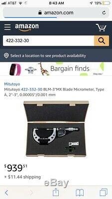 Mitutoyo digital Blade micrometer 2-3