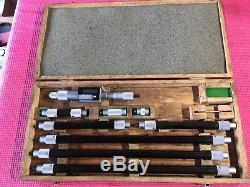 Mitutoyo digital Inside bore Micrometer gage 8-80 Inch Machinist Tool