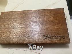 Mitutoyo digital caliper And Micrometer Set