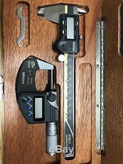 Mitutoyo digital caliper and Micrometer
