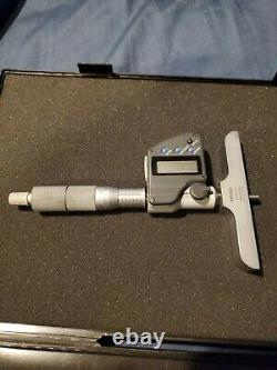 Mitutoyo digital depth micrometer
