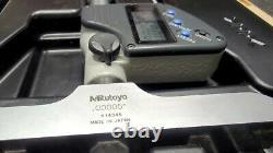 Mitutoyo digital depth micrometer 329-350.00005 resolution, 0-6 inches
