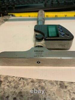 Mitutoyo digital depth micrometer 329-350 Used
