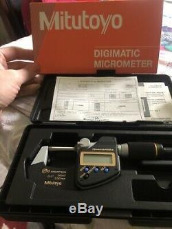 Mitutoyo digital micrometer 0-1