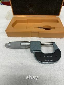 Mitutoyo digital micrometer 0-1 Model # 193-211