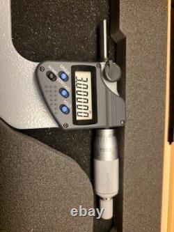 Mitutoyo digital micrometer 3-4