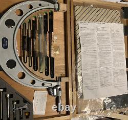 Mitutoyo digital micrometer 6-12