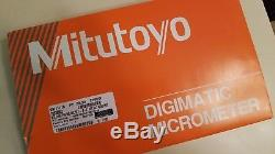 Mitutoyo digital micrometer set 0-1, 1-2, 2-3