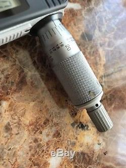 Mitutoyo digital micrometer set 3-4 4-5 5-6
