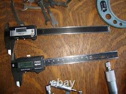 Mitutoyo mike micrometer set Fowler digital vernier