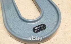Mitutoyo sheet metal digital display micrometer No. 189-129 NICE carbide. 001