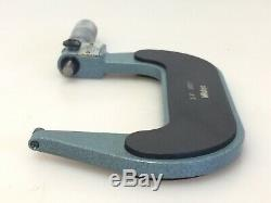 Mitytoyo 193-214 Outside Micrometer 3-4 Mechanical Digital Readout with Case