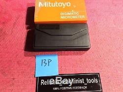 NEW MITUTOYO 0-1 Quantumike DIGITAL IP65 Outside Micrometer. 00005 Grad(13P)