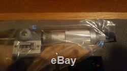 NEW Mitutoyo 193-923 0-3.0001 Mechanical Digit- OD Micrometer Set