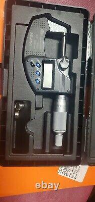 NEW! Mitutoyo Digital Micrometer, 0-1/0-25.4mm (IP65)