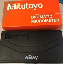 NEW! Mitutoyo Digital Micrometer, 293-344-30, 0-1/0-25.4mm