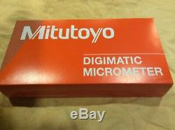 NEW! Mitutoyo Digital Micrometer, 293-344-30, 0-1/0-25.4mm (IP65)