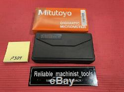 NEW Mitutoyo QUANTUMIKE Digital Outside MIC 0-1/ 0.00005 (P389)