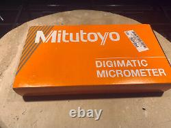 NIBMitutoyo 0 to 1 Inch Measurement Range, Pin Anvil, Data Port Electronic