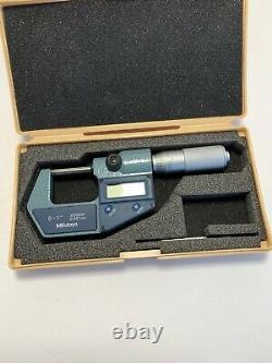 NOS Mitutoyo 293-765-30 Digimatic Micrometer, 0-1/0-25mm Range. 00005/0.001mm