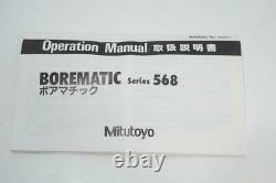New Mitutoyo 3.2-3.6 Digital Borematic Bore Gage Micrometer. 00005 Grad. Japan